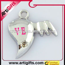 fashion half heart pendant