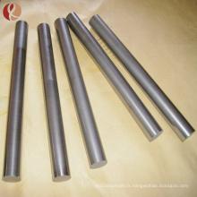 Prix de barre d'alliage titanique de niobium poli de surface