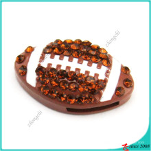 Hot Selling Football Slide Charms Bracelet Charms