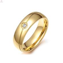 Wholesale Minimum Price 3 Carat Gold Ring, Diamond Engagement Solitaire 3 Gram Gold Ring
