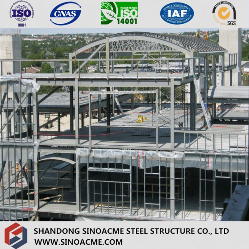 China Vorgefertigte Zertifizierung Schwerer Stahlbau Bau / Bau ...