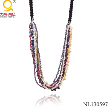 Multi Strand Necklace Fashion Jewelry