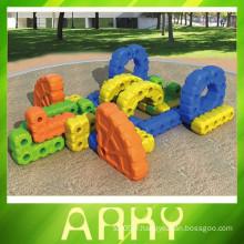 Terrain de jeux en plastique pour enfants en plein air et en 2015
