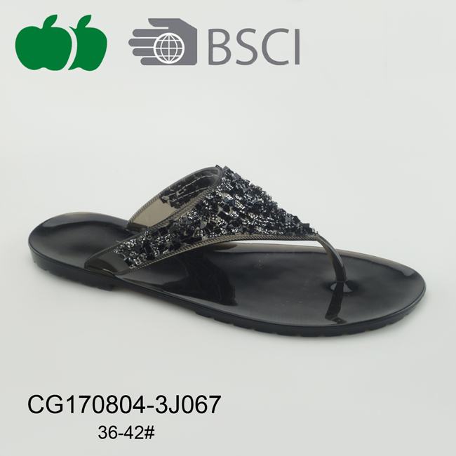 Cheap New Hot Sale Ladies Pvc Slippers