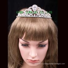 Новые большие каменные короны женщин кристалл тиара моды головные уборы