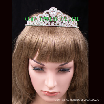 Neue Big Stone Crown Frauen Kristall Tiara Fashion Headwear