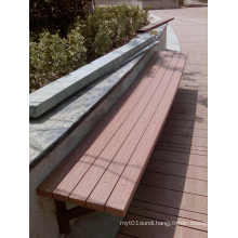 WPC Waterproof Long Life Outdoor Bench (in garden, park, housing estate)