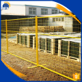 best price PVC coating temporary fence