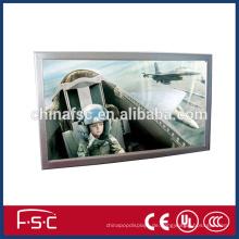LED slim Aluminium Wand Frame Leuchtkasten Fotorahmen