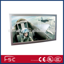 Led slim aluminum wall frame light box photo frame