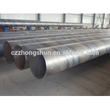 Tubo de aço espiral / tubo de baixo preço de alta qualidade API ASTM CS venda quente