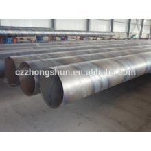 Espiral tubo de acero / tubo de bajo precio de alta calidad API ASTM CS venta caliente