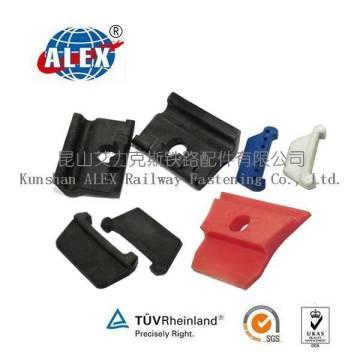 Isolateur en nylon rail