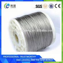 Corde à fil en acier revêtu de zinc 1 * 19