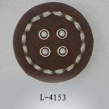 Couro de Upholstery plana botões forrados para revestimentos