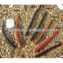 Морская рыбалка приманки мягкого пластика