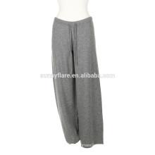 Pantalones sueltos Super Warm de la cachemira de las mujeres de moda 100%