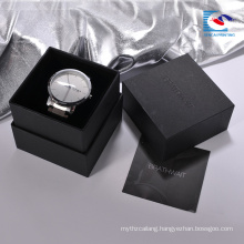 Chinese suppliers custom high end cardboard watch gift box With Sponge Cushion