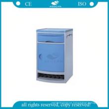 AG-BC006 ABS armario de almacenamiento de plástico de plástico mesitas de noche