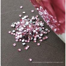 Diamant acrylique carré pour le bricolage