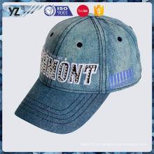 Popular de la fábrica diseñó la gorra de béisbol de la corduroy para la venta