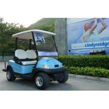 Chariot de golf électrique en aluminium à 2 places pour terrain de golf