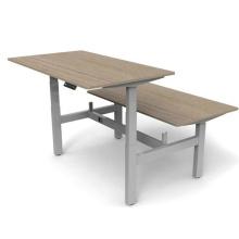 Electric Adjustable Back To Back Standing Desk