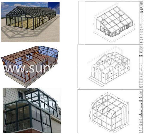 structure of sunroom