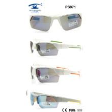 Plastic Sport Sunglasses for Woman Man (PS971)