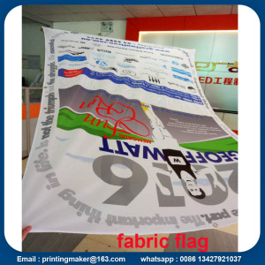 Knitted Polyester Custom Flag Printing