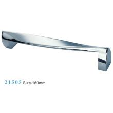 Poignée de meuble de meuble en fer de fer en alliage de zinc (21505)