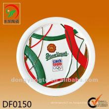 Estera de cerámica redonda de la taza del repujado redondo al por mayor directo de la fábrica