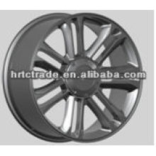 22 inches car alloy wheels white