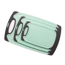 3 size square  plastic cutting board