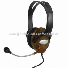 Stereo Computer Headphones with Fashionable and Colorful