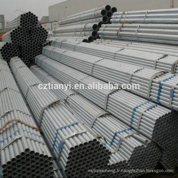 Excellente qualité bas prix 200mm gi pipes, 2 gi pipe