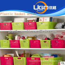 plastic shopping basket moulds maker injection basket mould in taizhou zhejiang china
