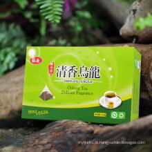Chá saudável natural do oolong do chá saudável da forma da pirâmide do chá