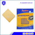 Papier de verre abrasif 9 x 11 eau assorti mouillé ou sec