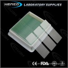HENSO Klebstoffmikroskopische Objektträger 7112 - Positiv aufgeladen
