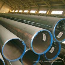Черная сварная стальная труба хорошего качества для конструкции
