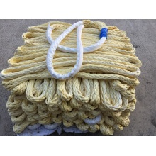 Ultra High Molecolar Weight Polyethylene Polyester Double Strands Ropes Mooring Rope