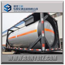 20FT 20m3 ASME Liquid Petro Gas LPG Contenedor Tanque