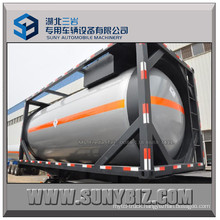 20FT 20m3 ASME Liquid Petro Gas LPG Tank Container