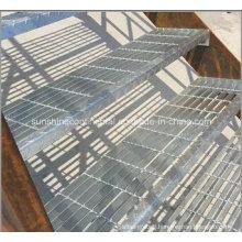Galvanized Steel Stair Grating Ladder