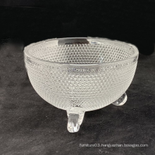 Clear  Ice Cream Glass Bowl