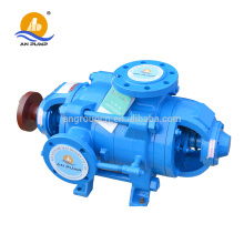 Horizontal high pressure desalination multistage water pump