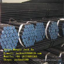 Tuyau de carbone sans soudure ASTM A106 / 53 PSL 1 sans soudure Tuyau d'acier laminé à froid API 5CT Tuyau de tubage de pétrole