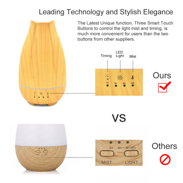 Wooden Electric Ultrasonic Aromatherapy Diffuser 500ml