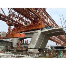 240t-40m partes de hormigón separadas de puente que lanza la grúa de pórtico (JQ-03)